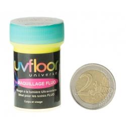 Crème Fluo Bodypaint Jaune 15 ml (pour le corps) -Uf