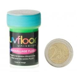 Crème Fluo Bodypaint Vert 15 ml (pour le corps) -Uf