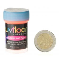 Crème Fluo Bodypaint Orange 15 ml (pour le corps) -Uf