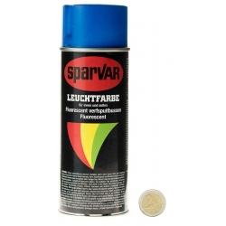 Spray Peinture Fluorescente BLEUE x 400 ml
