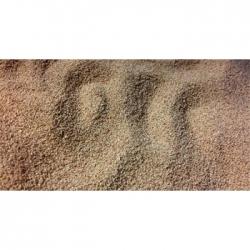 Faux sable granulométrie