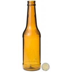 """Bouteille Bière Brune 33 cl """"Budweiser """" résine cassable"""