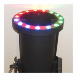 Glowmax Led DMX - Turbine à  confettis projection