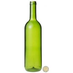 Bouteille de vin Rouge en résine cassable