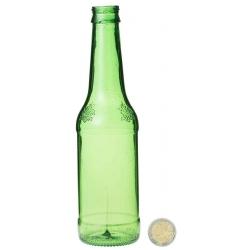 Bouteille Bière Verte 33 cl résine cassable