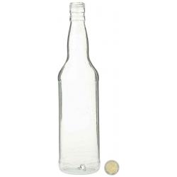Bouteille Whisky Blanche en résine cassable