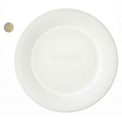 Assiette résine cassable