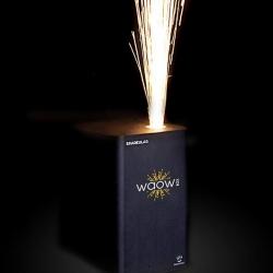 WAOW BOX Sparkular - Machine étincelles froides 1 à 5 m - location/jour