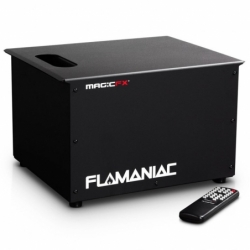 Flamaniac - Projecteur flamme 5 sorties (Int./Ext.) x location/jour