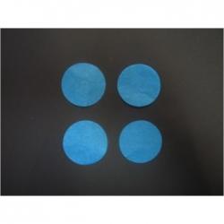 Confettis de Scènes Ronds Ø 55 mm TURQUOISE