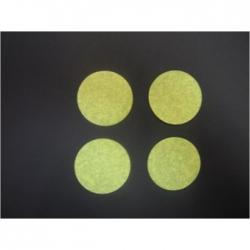 Confettis de Scènes Ronds Ø 55 mm JAUNES