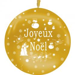 Ballons Joyeux Noel OR Latex