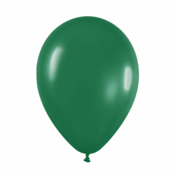 Ballons verts foncés