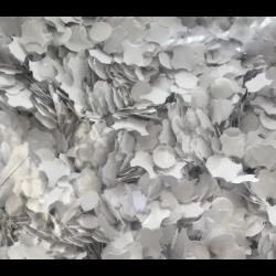 Mini confettis Carnaval Blancs