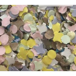 Mini Confettis de Carnaval Multicolores x 10 kg (Sans Poussières)