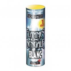 Flamme de Bengale 1 mn Blanche