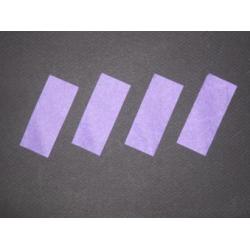 Confettis rectangulaires 2 x 5 cm Violets x 1 kg Ignifugés -cf