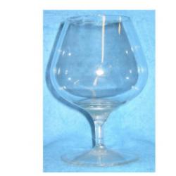 Verre à Cognac Transparent en résine cassable