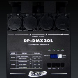 Switch pack DMX 4 canaux location 1 jour