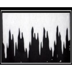 Frise de stalactites
