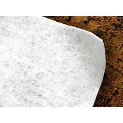 Toile Géotextile 105 g/m2 blanc 200 cm x 25 m