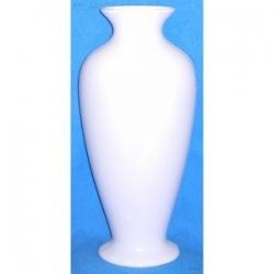 Vase Céramique Blanc Haut. 31,70 cm en Résine Cassable
