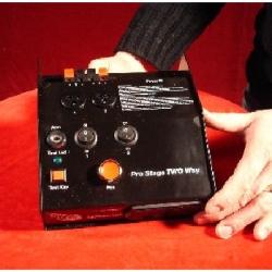 Télécommande : Console 2 voies Pro stage LM