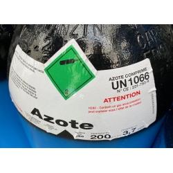 Azote (Nitrogène) Bouteille de 9,4 m3 - AL