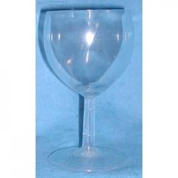 Verre à Vin 20 cl transparent en Résine cassable