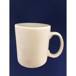 Mug Tasse Céramique Blanche Résine cassable (sucre)
