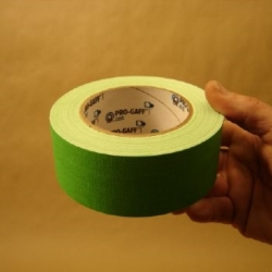 Ruban fluorescent vert 50 mm