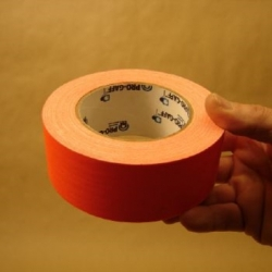 Ruban fluorescent orange 50 mm