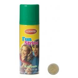 Spray fil fou Vert 83 ml (fil de serpentins synthétqiue) -PP