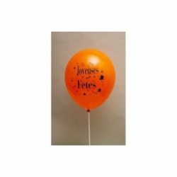 Ballons joyeuses fêtes latex