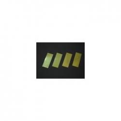 Confettis Pro : 20x50 mm Métal Or