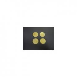Confettis Pro : Ø 55 mm Métal Or Ignifugés
