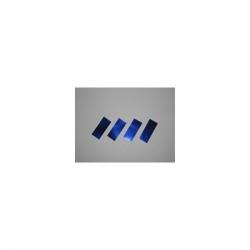 Confetti Pro : 10x20 mm Métal Bleu
