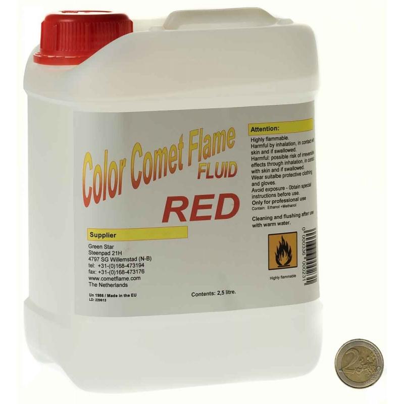 Comet Flame - Liquide Rouge