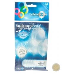 Ballons lumineux blancs à led Blanche